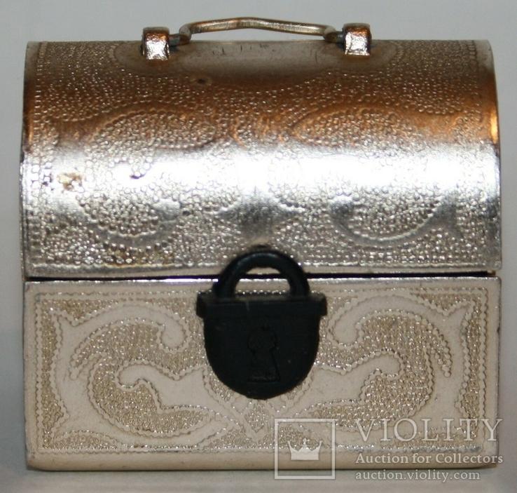 Сундучок-сувенир для драгоценностей (СССР), фото №7