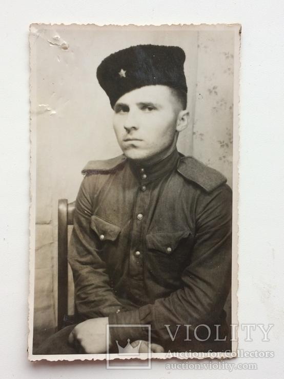 Красноармеец в кубанке, фото №2