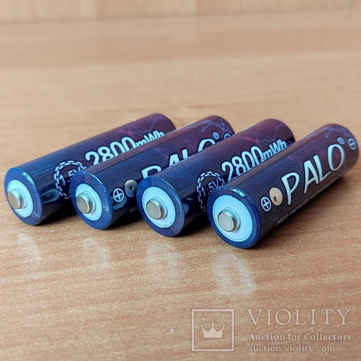 Аккумуляторы АА на 1,5V (ПОЛТОРА Вольта) Li-ion - 4 шт. + зарядное, фото №4