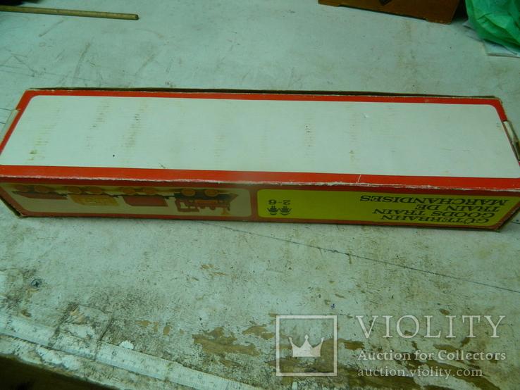Железная дорого ГДР в коробке - механическая, фото №5