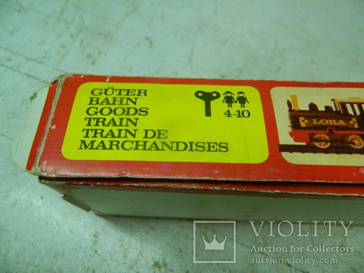 Железная дорого ГДР в коробке - механическая, фото №6