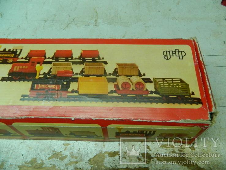 Железная дорого ГДР в коробке - механическая, фото №7