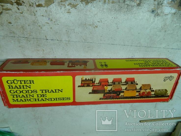 Железная дорого ГДР в коробке - механическая, фото №2