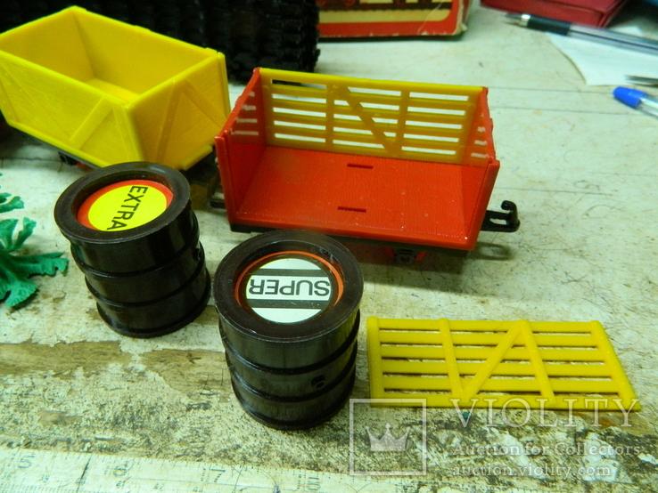 Железная дорого ГДР в коробке - механическая, фото №8