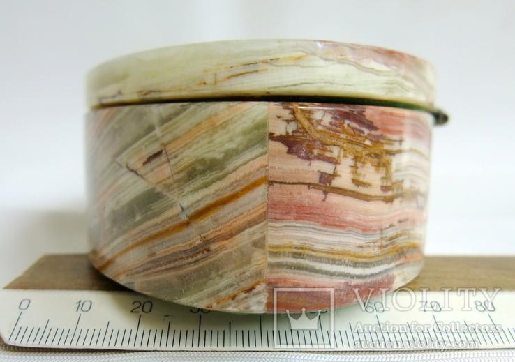 Шкатулка для украшений из зелёного оникса., фото №9