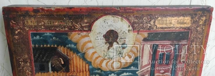 Икона Усекновение главы Иоанна Предтечи.36.5х29.5х3.5 См, фото №6