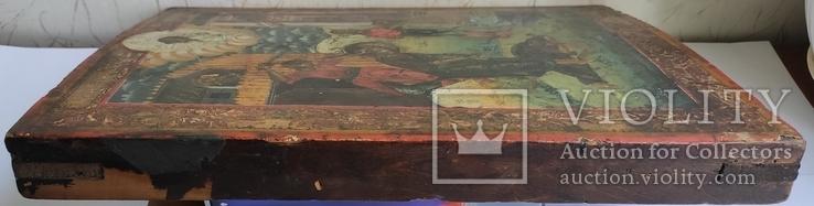 Икона Усекновение главы Иоанна Предтечи.36.5х29.5х3.5 См, фото №8