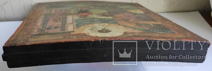 Икона Усекновение главы Иоанна Предтечи.36.5х29.5х3.5 См, фото №9