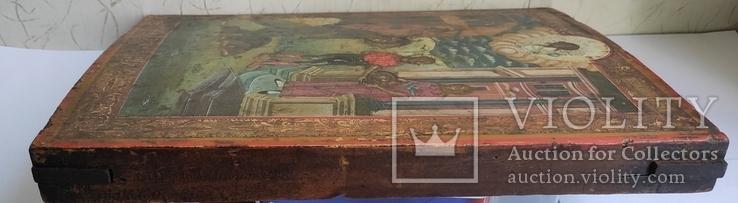 Икона Усекновение главы Иоанна Предтечи.36.5х29.5х3.5 См, фото №10