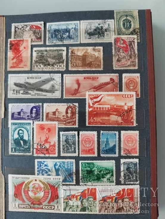 Марки СССР. 30-1959 гг, фото №3