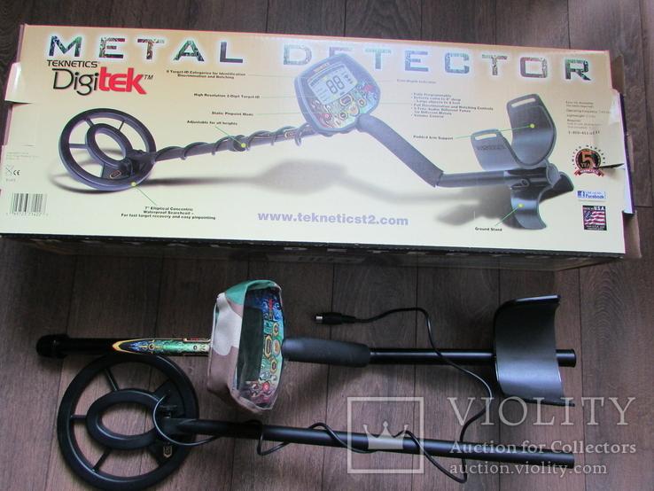 Металошукач Teknetics Digitek, фото №6