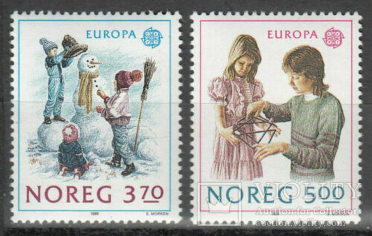 Норвегия 1989 Европа септ детские игры