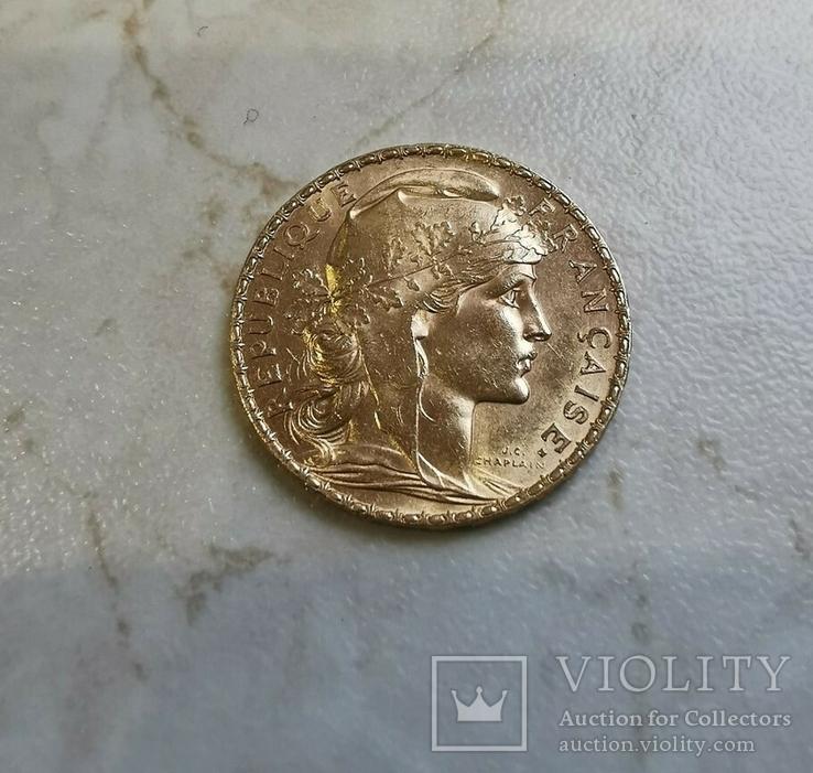 20 франков 1907 года