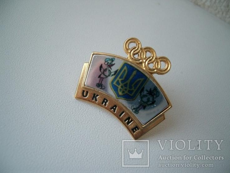 Олимпийский украинский знак, фото №3