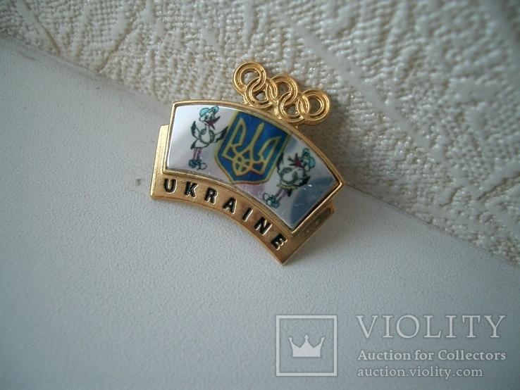 Олимпийский украинский знак, фото №5