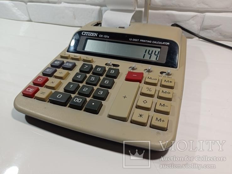 Калькулятор CITIZEN CX-131, фото №3