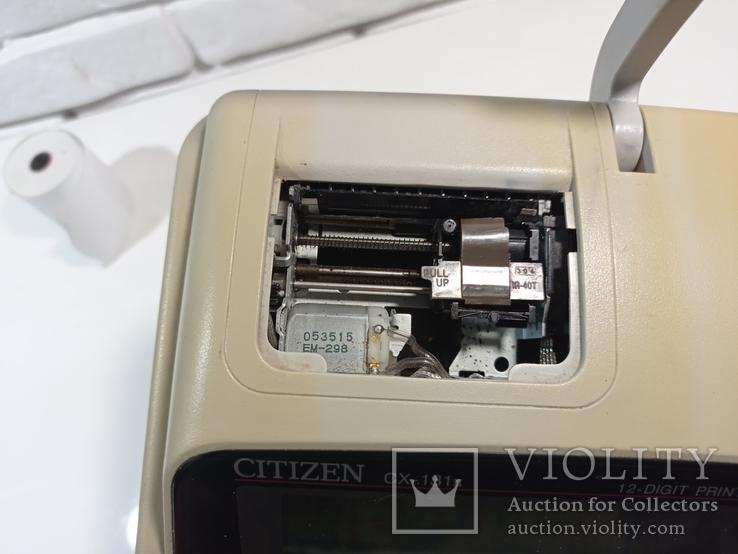 Калькулятор CITIZEN CX-131, фото №6