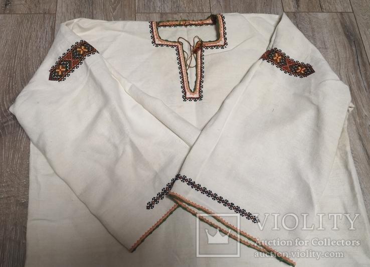 Жіноча сорочка на полотні, фото №2