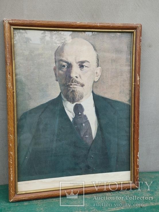 Репродукция - Портрет Ленина в рамке, фото №2