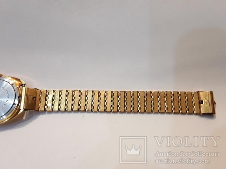 Позолоченые часы Восток  с браслетом, фото №6