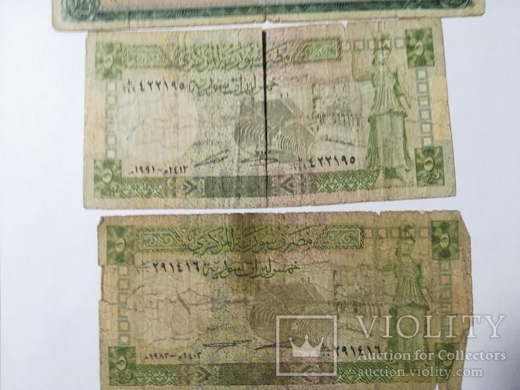 Боны Сирия 3 штуки 1982 1991 1974, фото №4