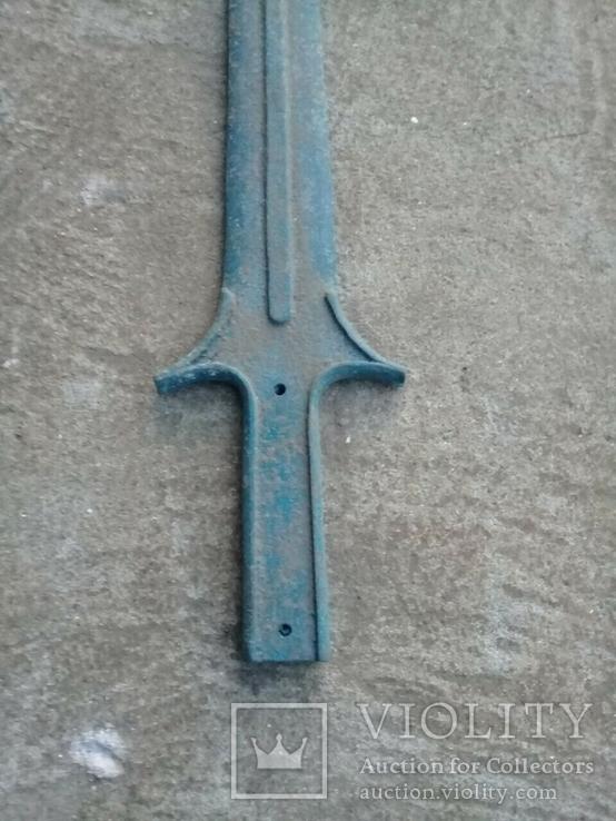 Кельтський бронзовий акінак(репліка), фото №3