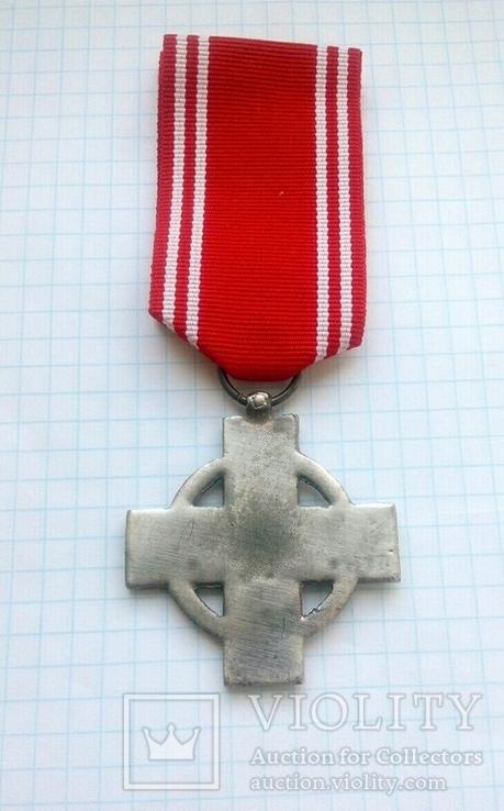 Крест 2 класса за 25 лет службы в пожарной охране, III Рейх, Германия (КОПИЯ)., фото №5