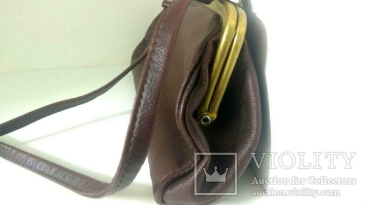 Женская коричневая сумка, фото №4