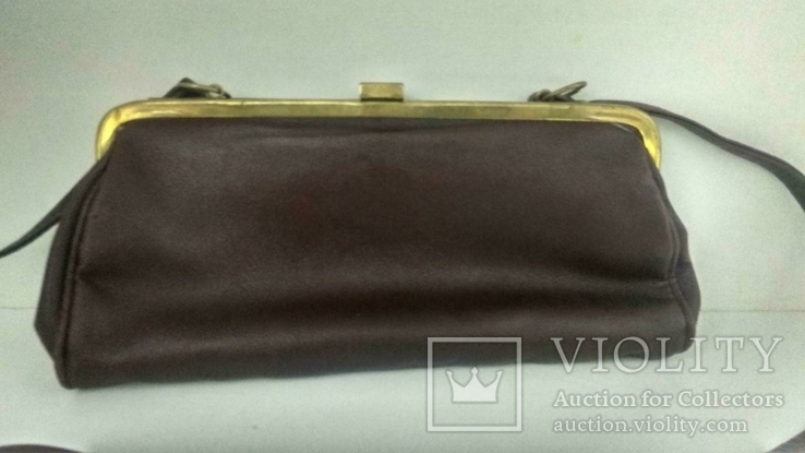 Женская коричневая сумка, фото №5