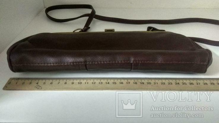 Женская коричневая сумка, фото №7