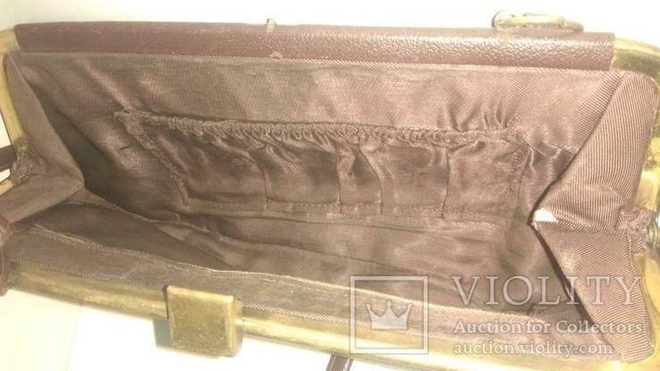 Женская коричневая сумка, фото №9