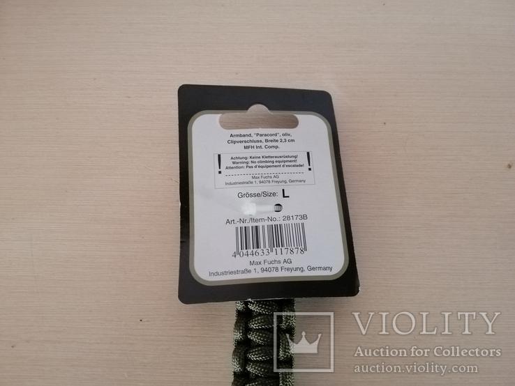 Паракордовый браслет, фото №3