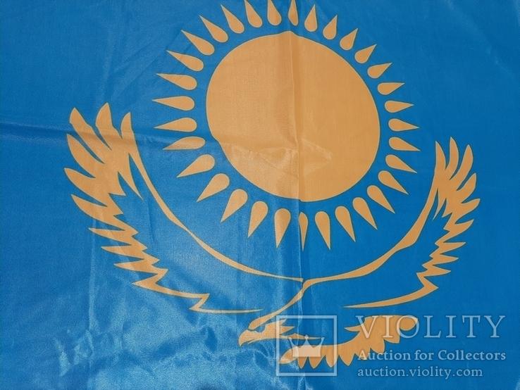 Большой флаг Казахстана, фото №10