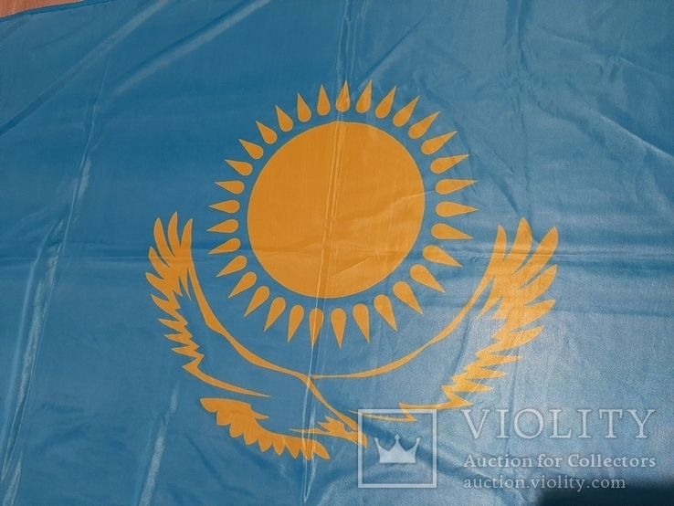 Большой флаг Казахстана, фото №13