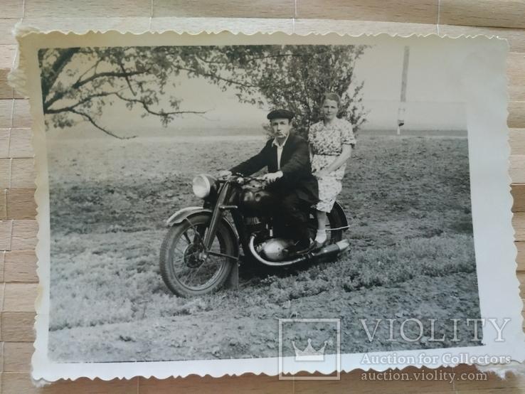 Пара мотоцикл мода 1960-е, фото №2