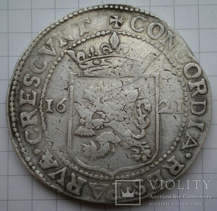 Риксдалер 1621 год. (Не выкуп), фото №3
