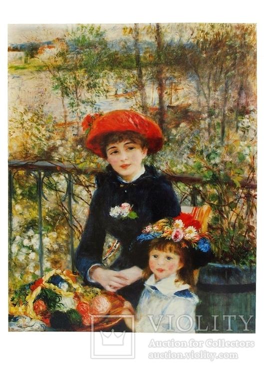 Репродукции картин Ренуара,отпечатано в Италии, фото №8