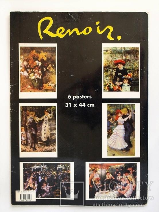Репродукции картин Ренуара,отпечатано в Италии, фото №11