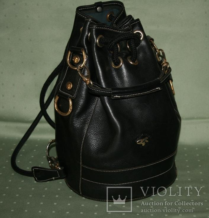 Рюкзак кожаный Gil Holsters France, фото №2