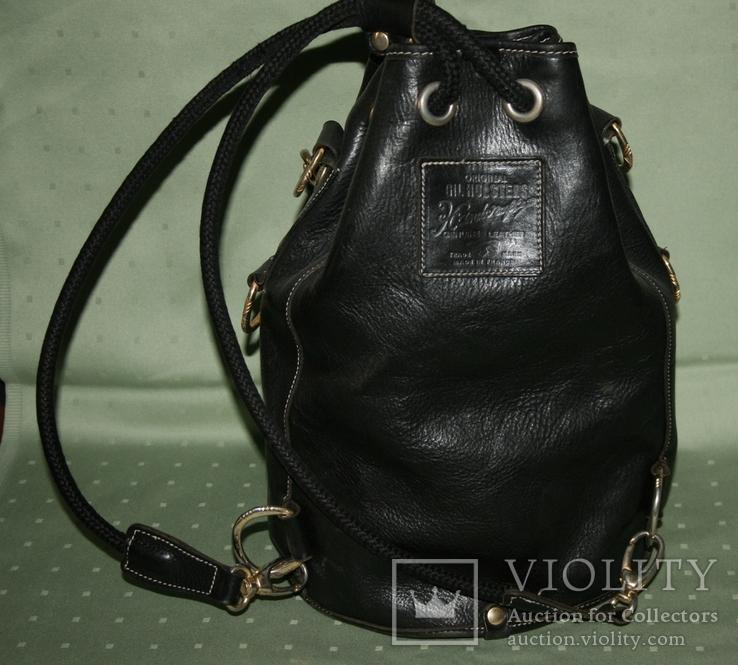 Рюкзак кожаный Gil Holsters France, фото №4