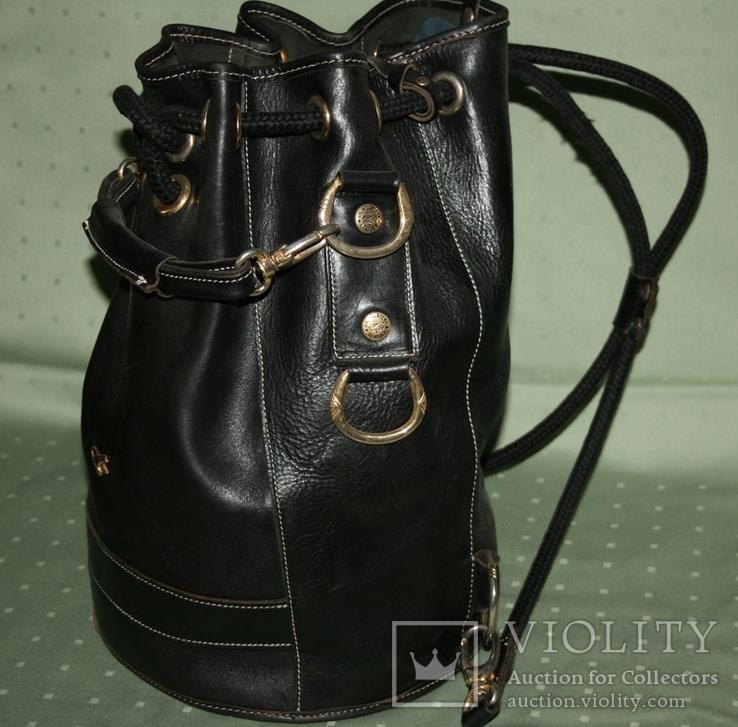Рюкзак кожаный Gil Holsters France, фото №8
