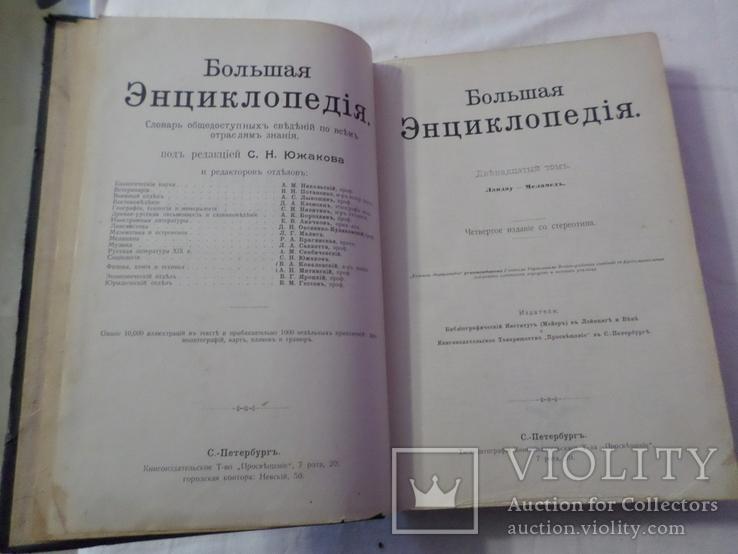 Большая энциклопедия ландау 1896 12 том, фото №8
