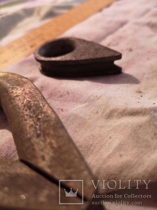Коуш для стальных канатов СССР петля трос коуши, фото №7