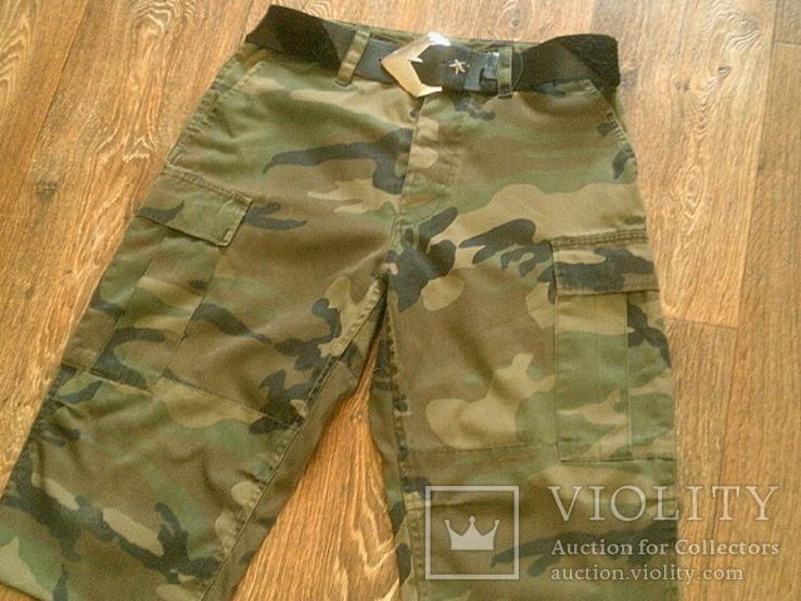 Mil-Tec by sturm - камуфляж шорты с ремнем, фото №4