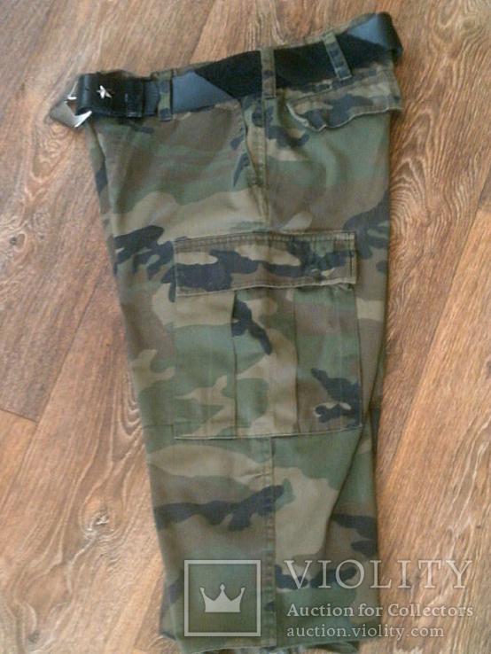 Mil-Tec by sturm - камуфляж шорты с ремнем, фото №6