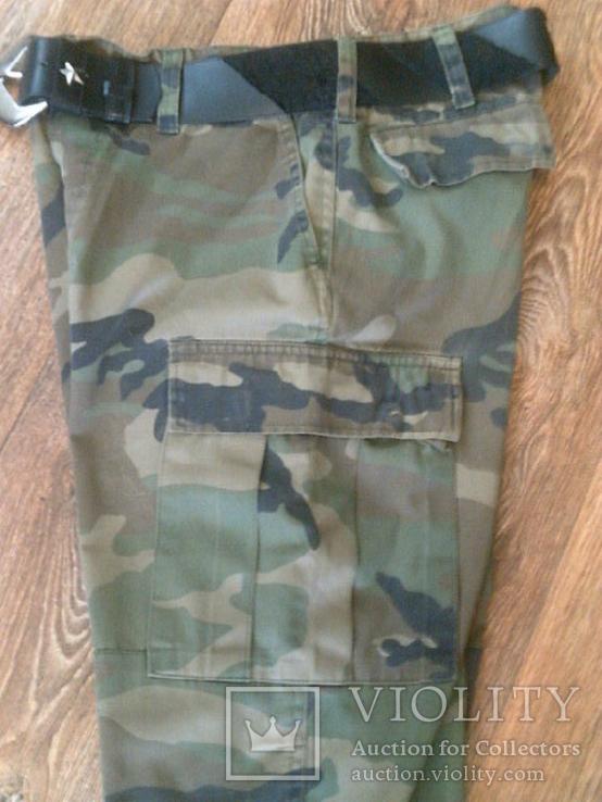 Mil-Tec by sturm - камуфляж шорты с ремнем, фото №7