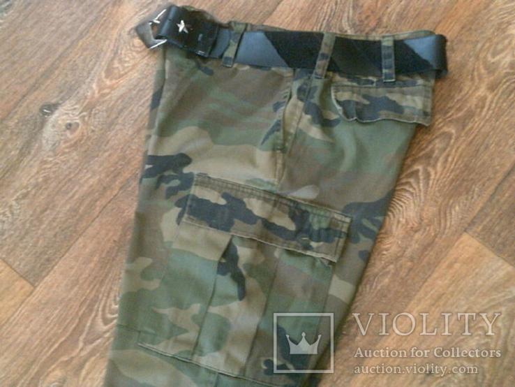 Mil-Tec by sturm - камуфляж шорты с ремнем, фото №8