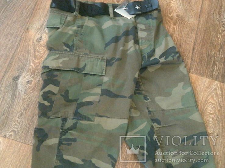 Mil-Tec by sturm - камуфляж шорты с ремнем, фото №10