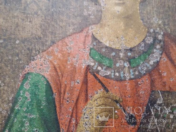 Икона Пантелеимон Целитель, благословение св. Афонской Горы, фото №7