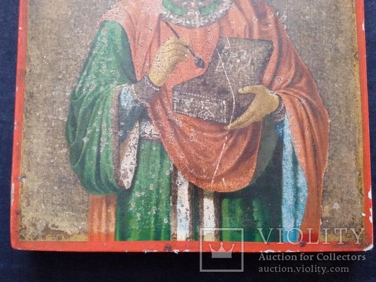 Икона Пантелеимон Целитель, благословение св. Афонской Горы, фото №9